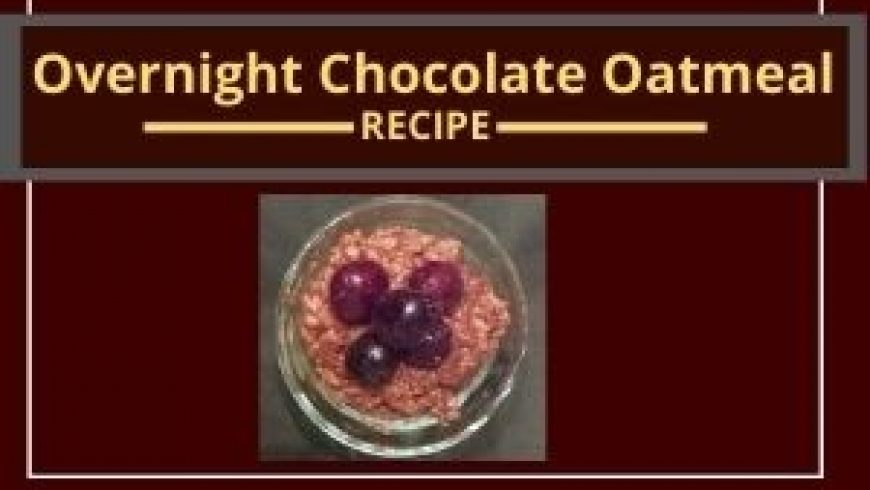 Molly's Decadent Overnight Chocolate Oatmeal