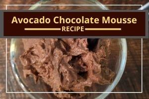 Avocado Chocolate Mousse: dairy-free