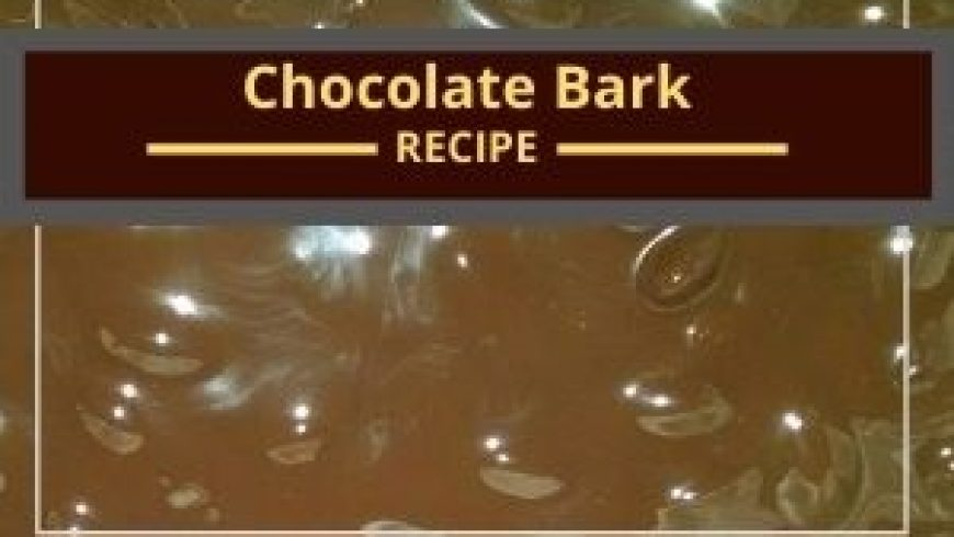 Chocolate Cherry Almond Bark: Dairy Free