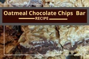 Oatmeal Chocolate Chip No-Bake Dessert Bars
