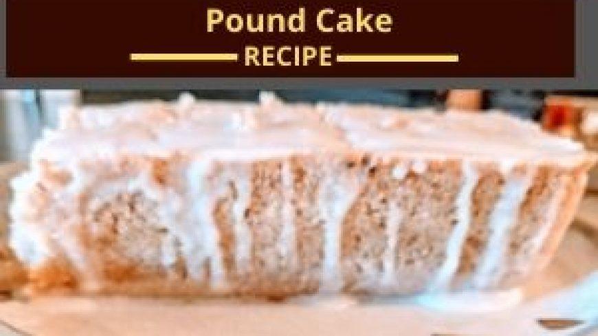 Dairy-free, Gluten-free, Egg-free Pound Cake with Glazes