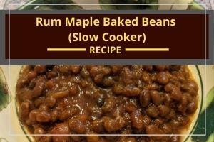 Rum Maple Baked Beans