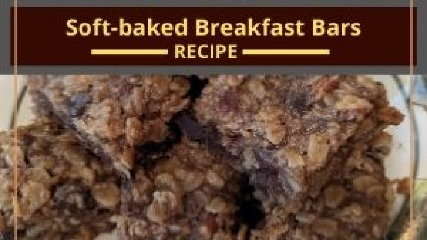 Soft-baked Breakfast Bars
