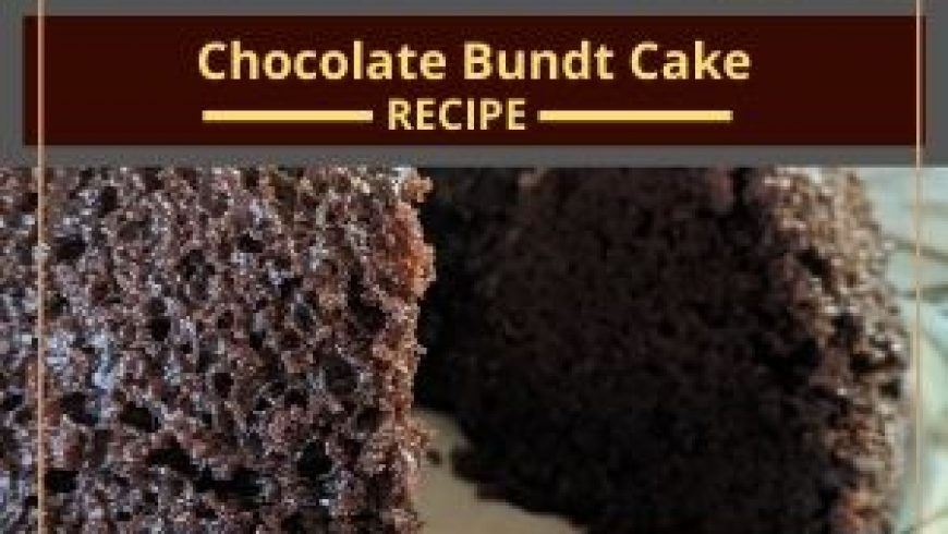 Chocolate Bundt Cake (vegan and gluten-free)