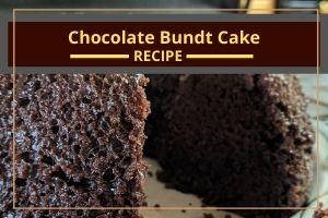 Chocolate Bundt Cake (vegan and gluten-free)