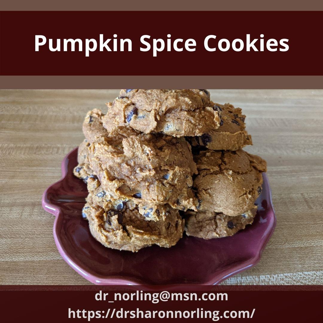 Cookie Mix Pumpkin Cookies