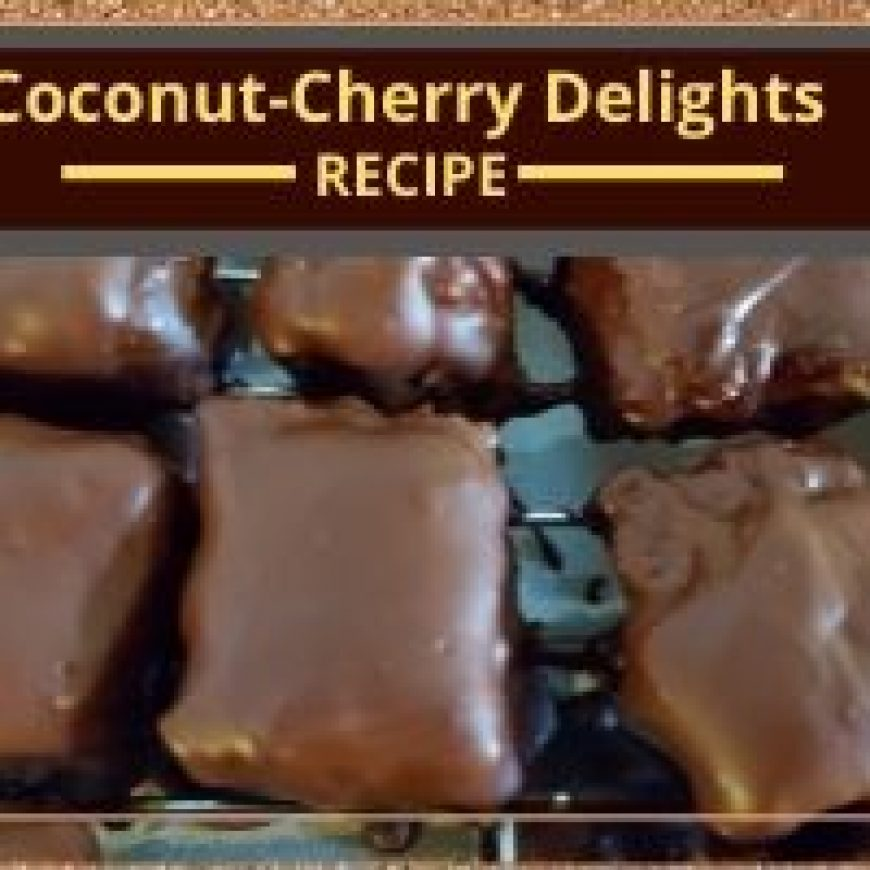 Coconut-Cherry Delights
