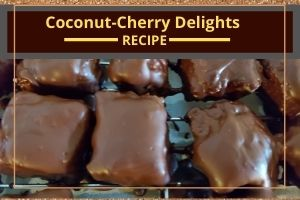 Coconut-Cherry Delights