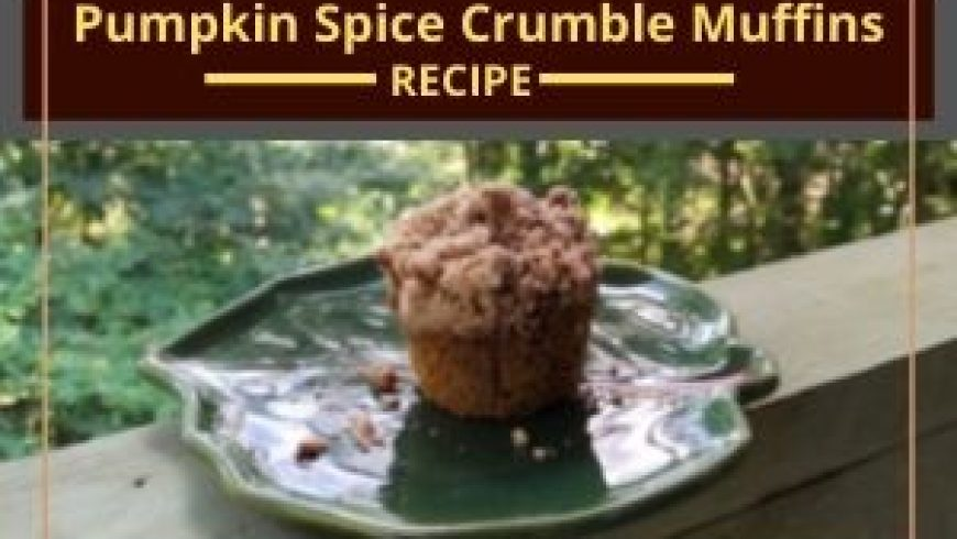 Pumpkin Spice Crumble Muffins
